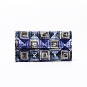 Siara Clutch carteras únicas hechas con telas 100% algodón