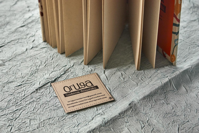 Oruga - cuadernos artesanales